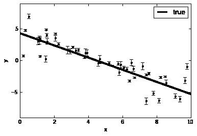 MCMC using emcee package — MATK 0 documentation
